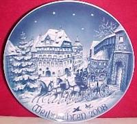 2008 Bareuther Christmas Plate
